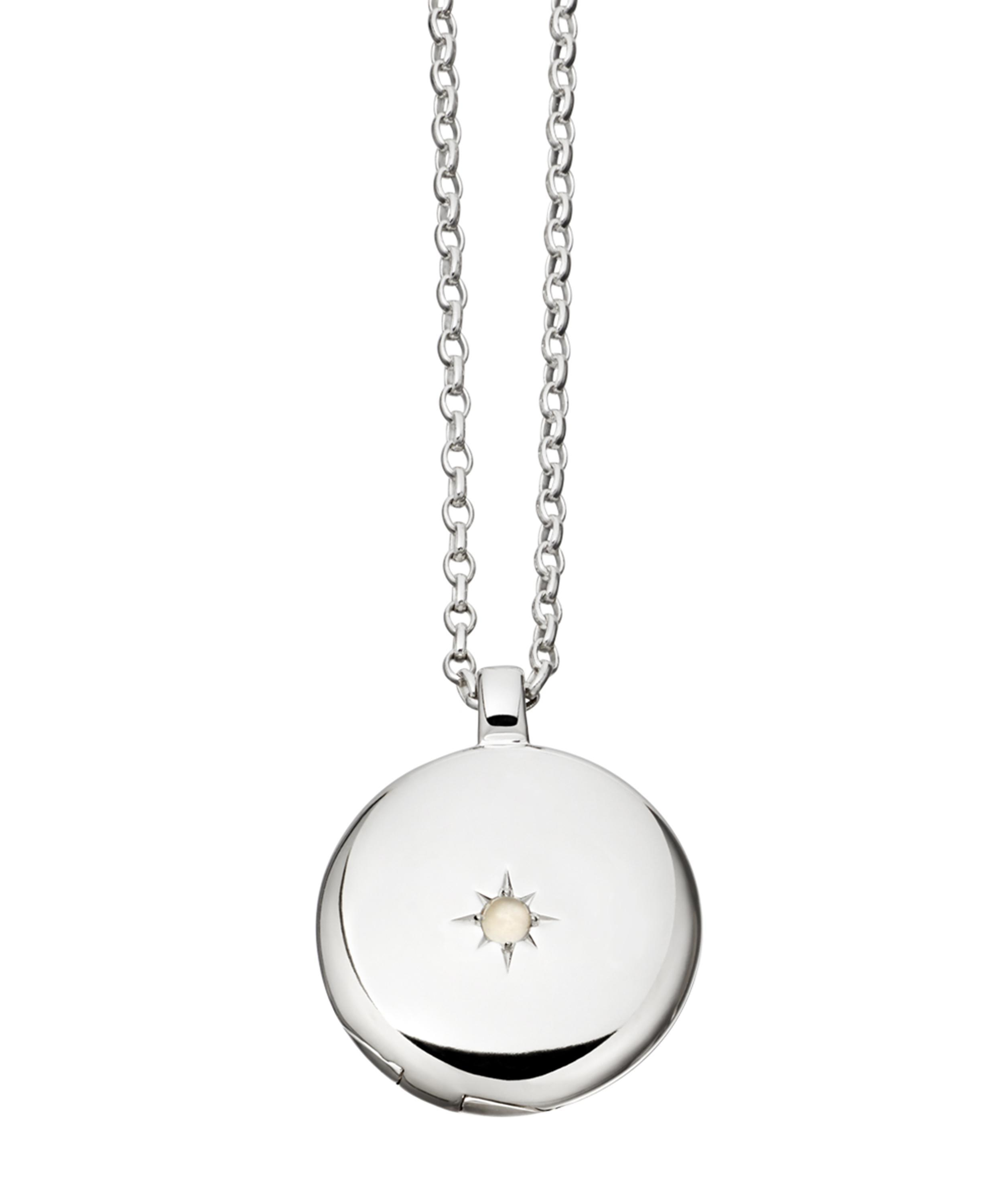 Astley Clarke medium Astley locket - Metallic VI4onar