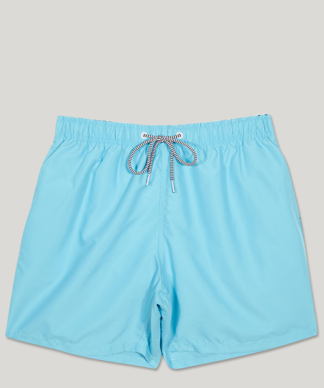 a35ceefc11 Boardies Plain Mid Length Swim Shorts in Blue for Men - Lyst