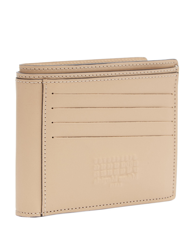 2ffaab30d3e5 Lyst - Maison Margiela Logo-embossed Bifold Wallet in Natural for Men
