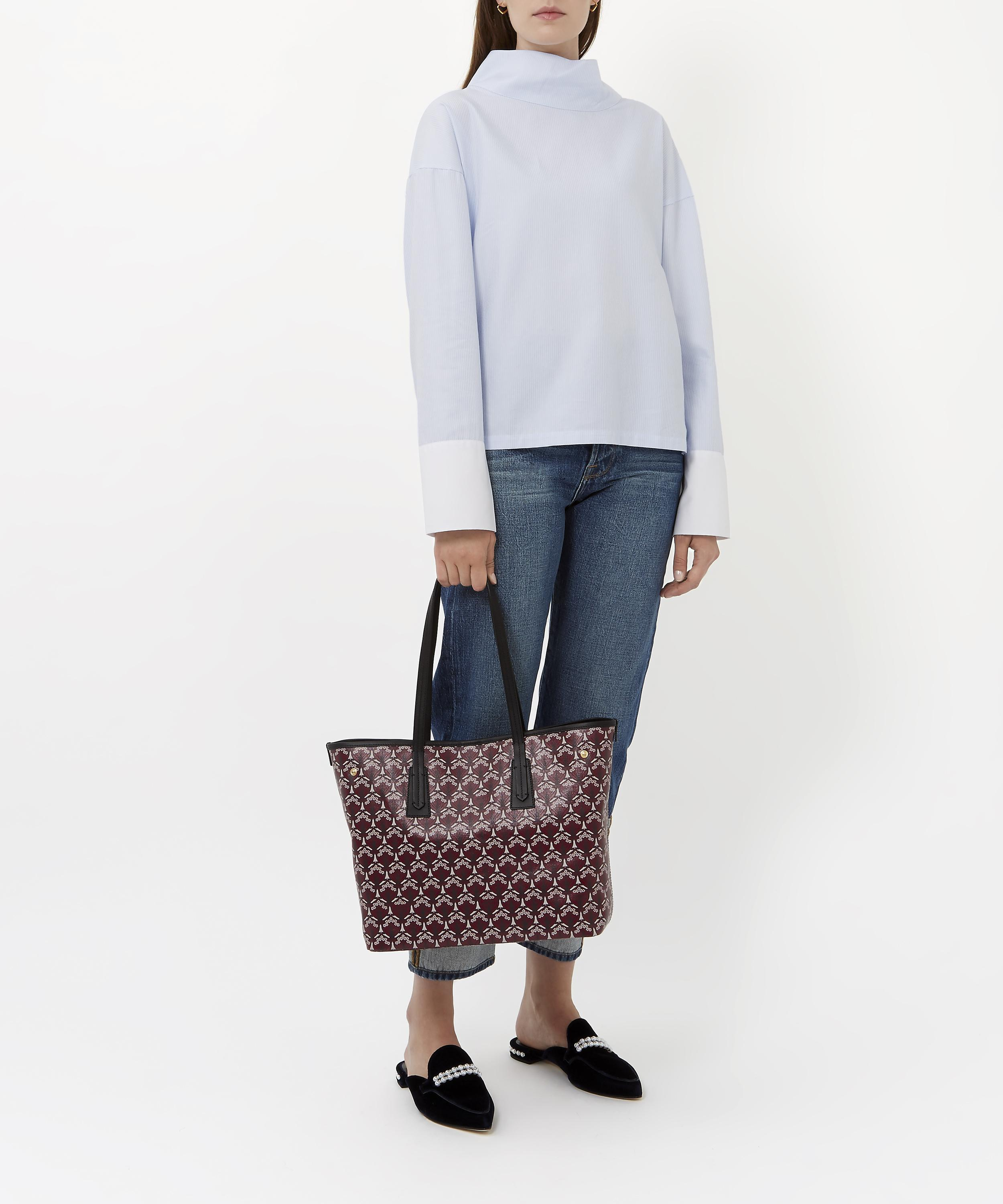 40cab7a59be24 Lyst - Liberty Little Marlborough Tote Bag In Iphis Canvas - Save 19%