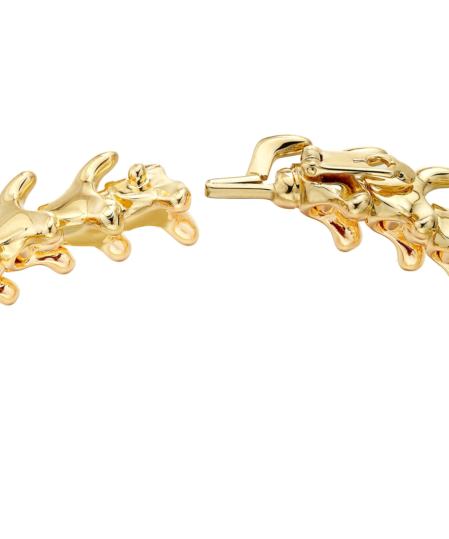 462efc01e Shaun Leane - Metallic Gold Vermeil Serpents Trace Slim Bracelet - Lyst.  View fullscreen