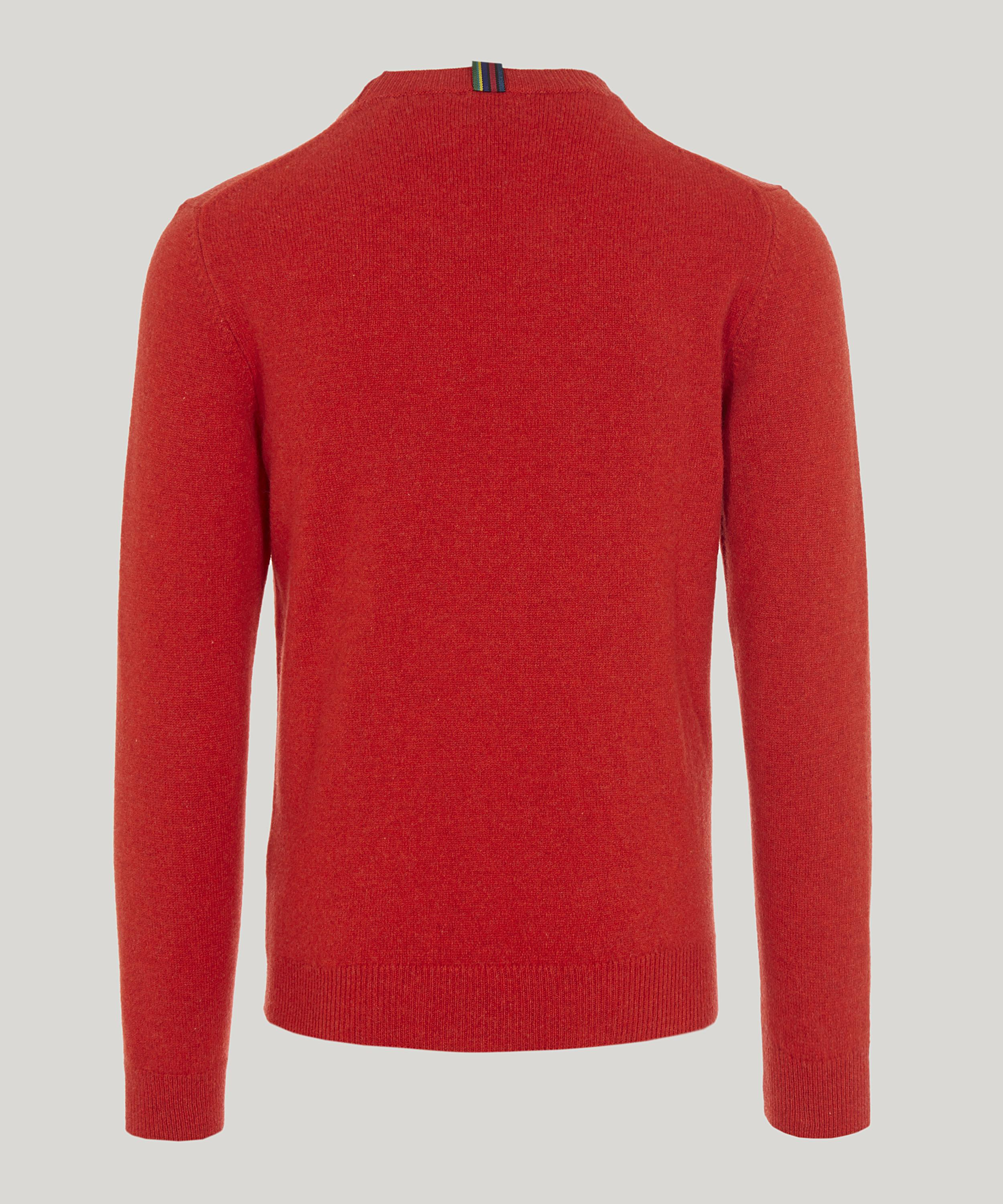 2c2c0a0cfa60 Lyst - Ps By Paul Smith Lambswool Sweater in Red for Men