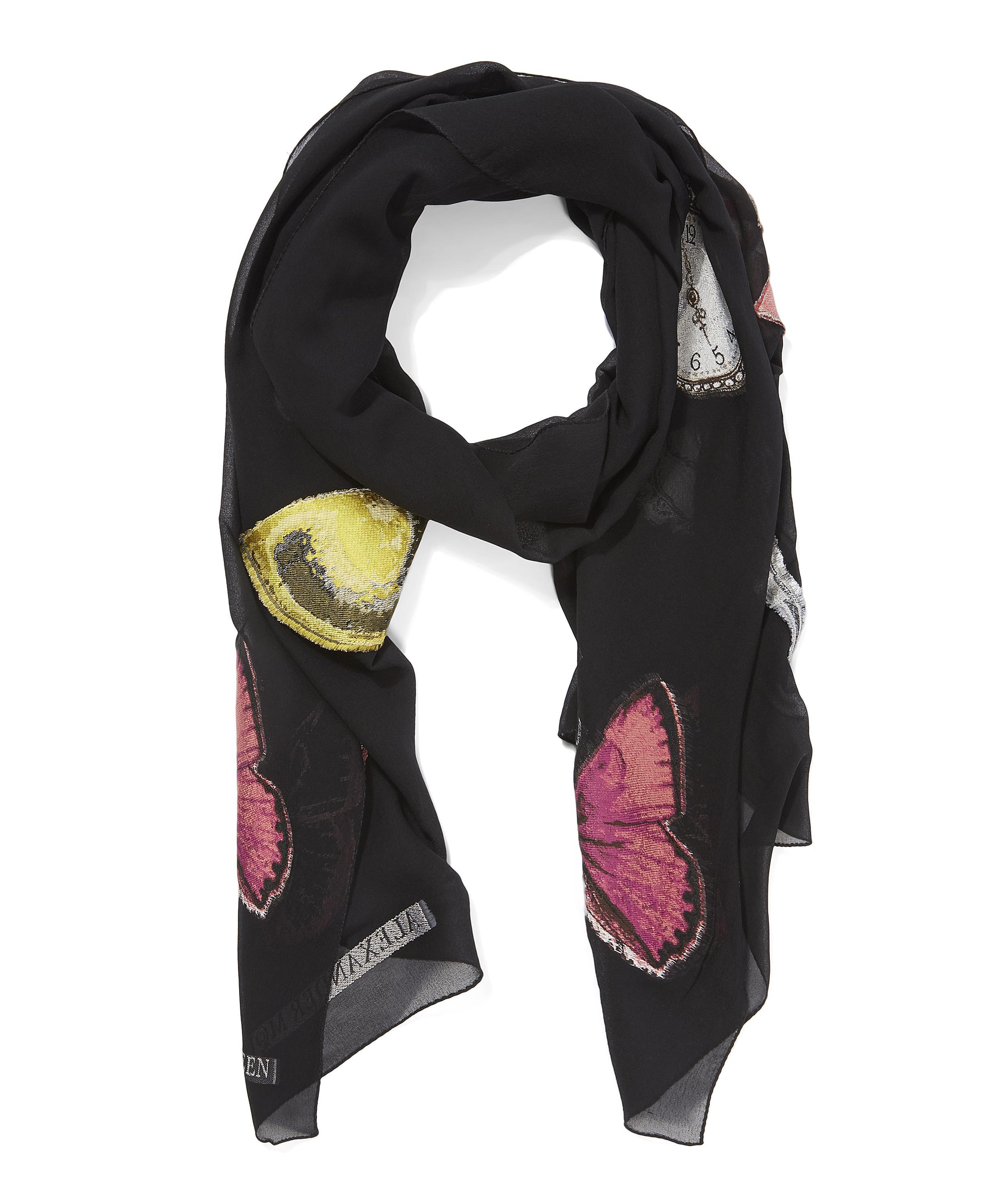 mcqueen vanity obsession scarf in
