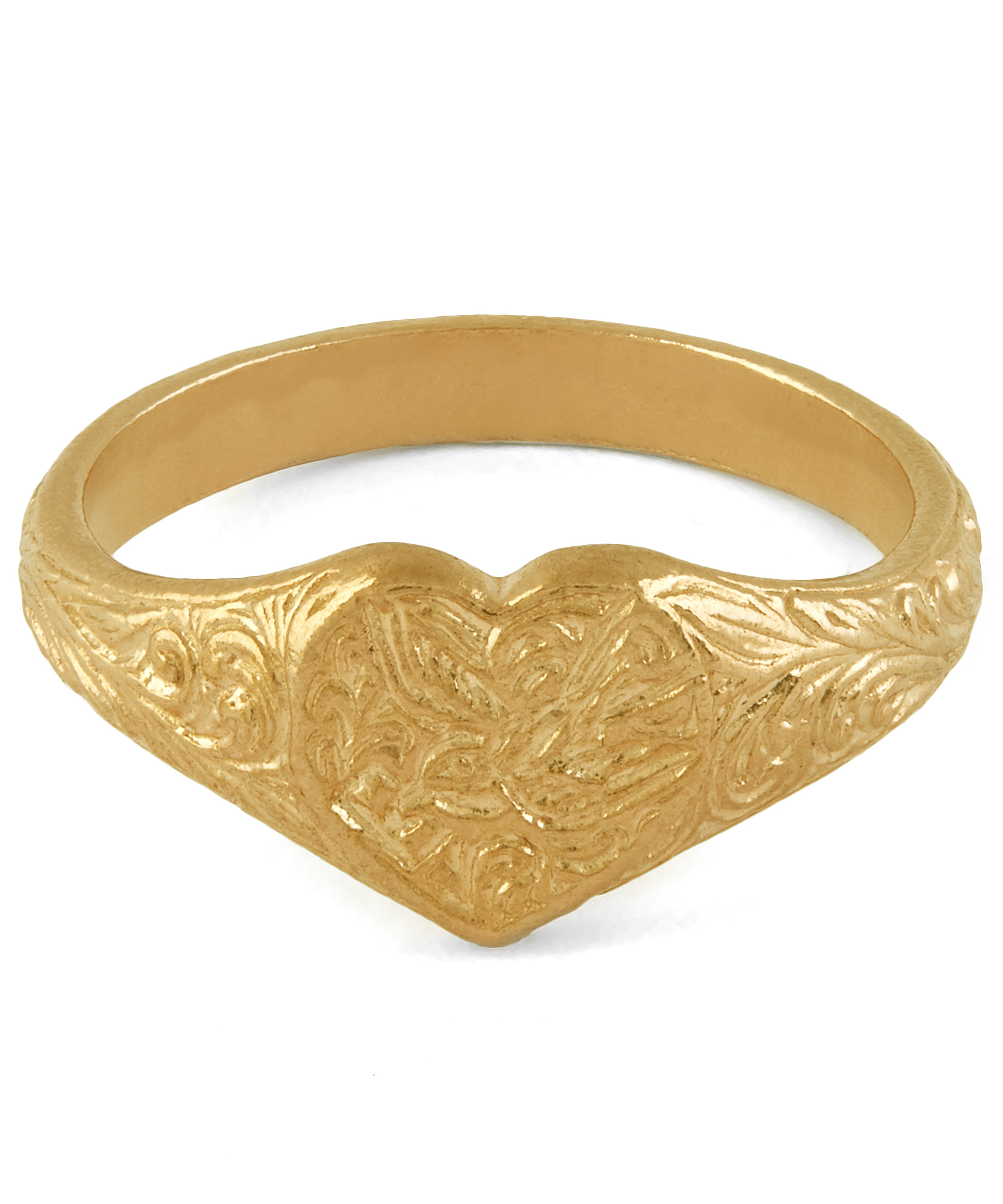 Asos Gold Plated Signet Ring