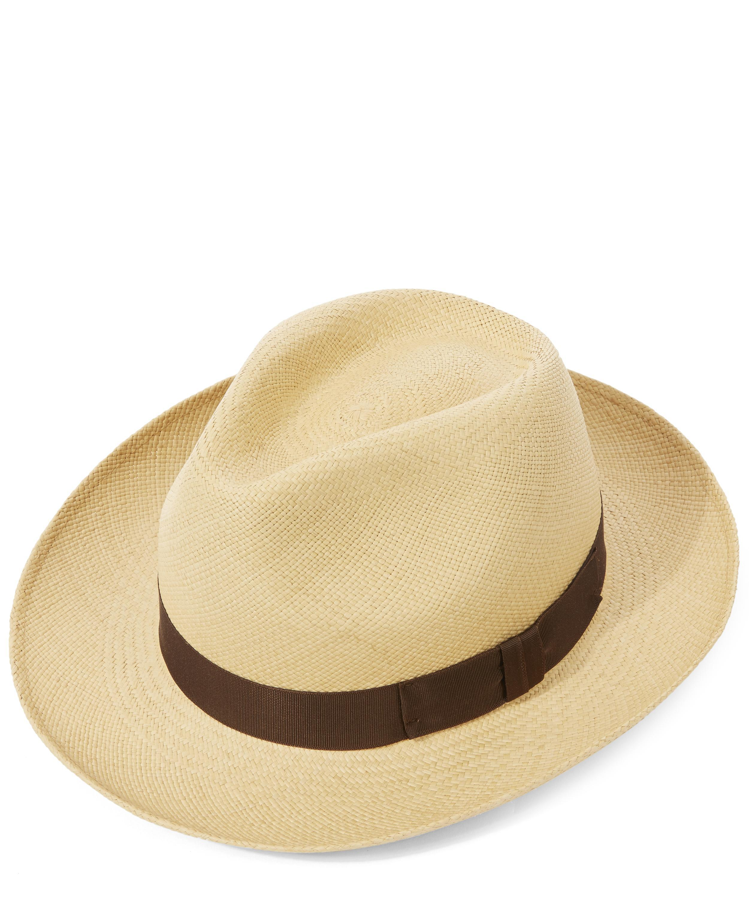 2adf23c8a Christys' Classic Preset Panama Hat in Brown for Men - Lyst