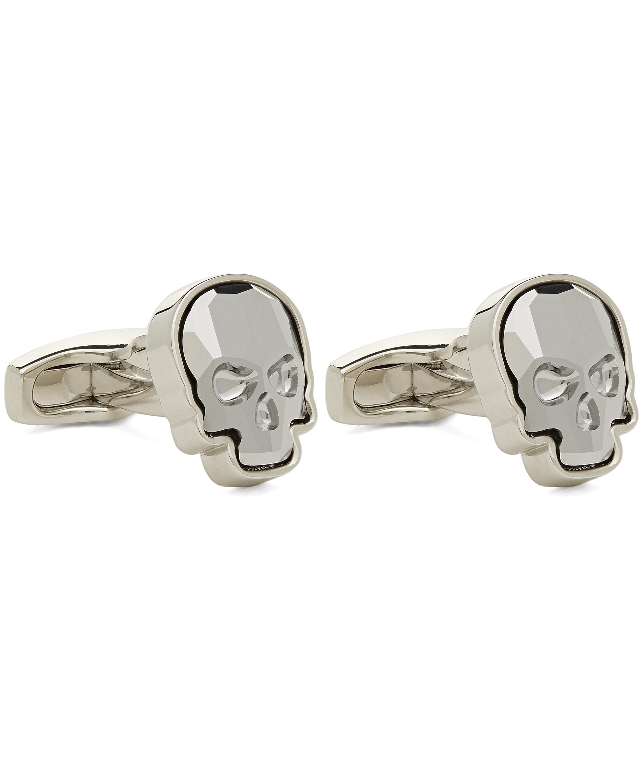 11123d2c7 Simon Carter Swarovski Crystal Skull Cufflinks in Metallic for Men - Lyst