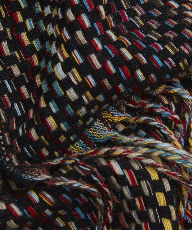 Lyst - Paul Smith Multi Basket Weave Scarf