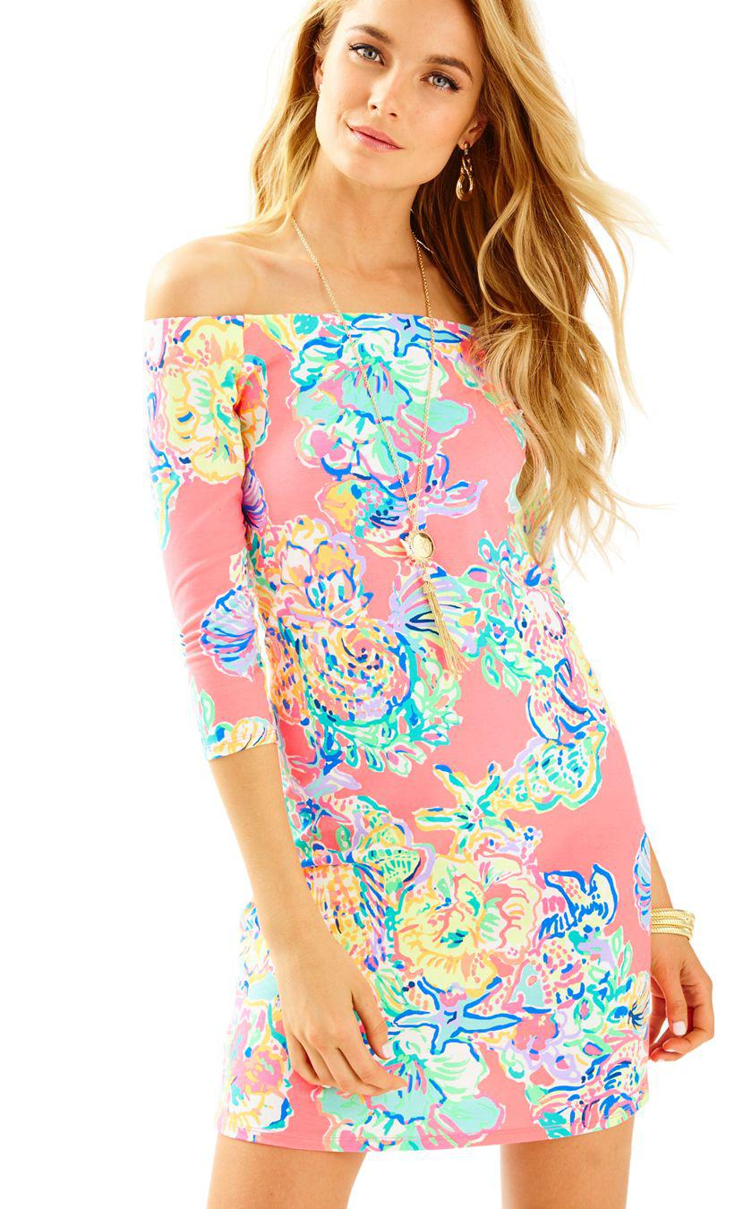b9063265e4a999 Gallery. Previously sold at: Lilly Pulitzer · Women's Off-the-Shoulder  Dresses