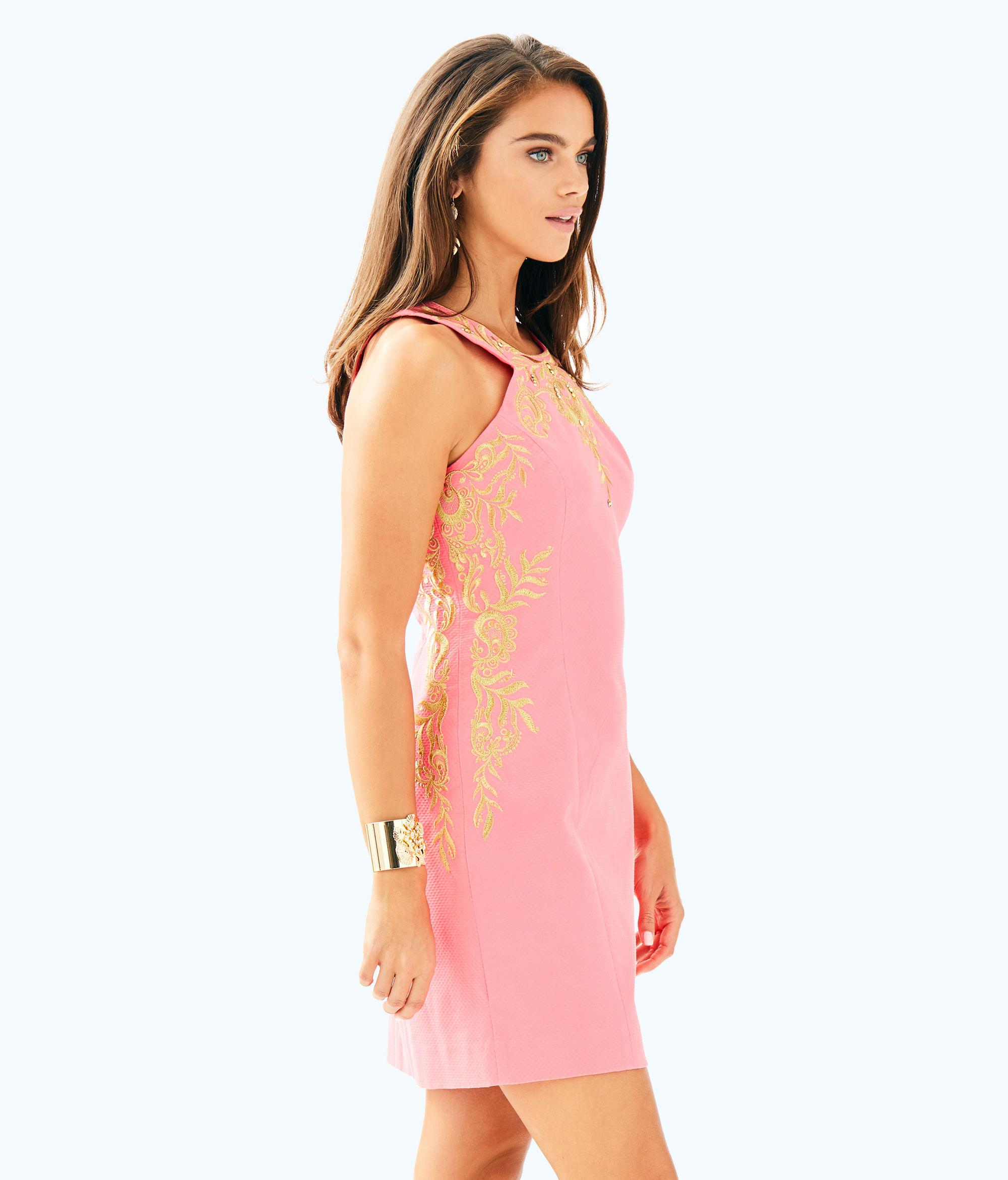 aabb1134d0ac Lyst - Lilly Pulitzer Tina Stretch Shift Dress in Pink
