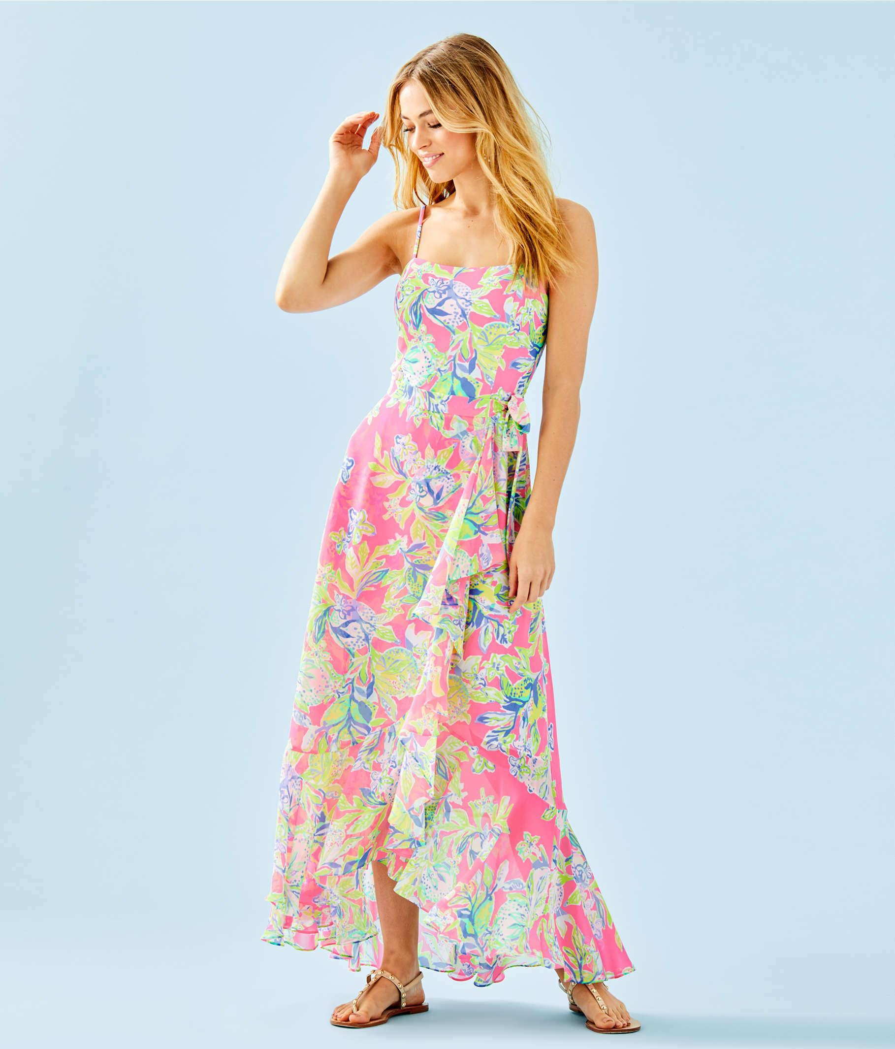 d66117b7ec Lyst - Lilly Pulitzer Anni Maxi Dress in Blue