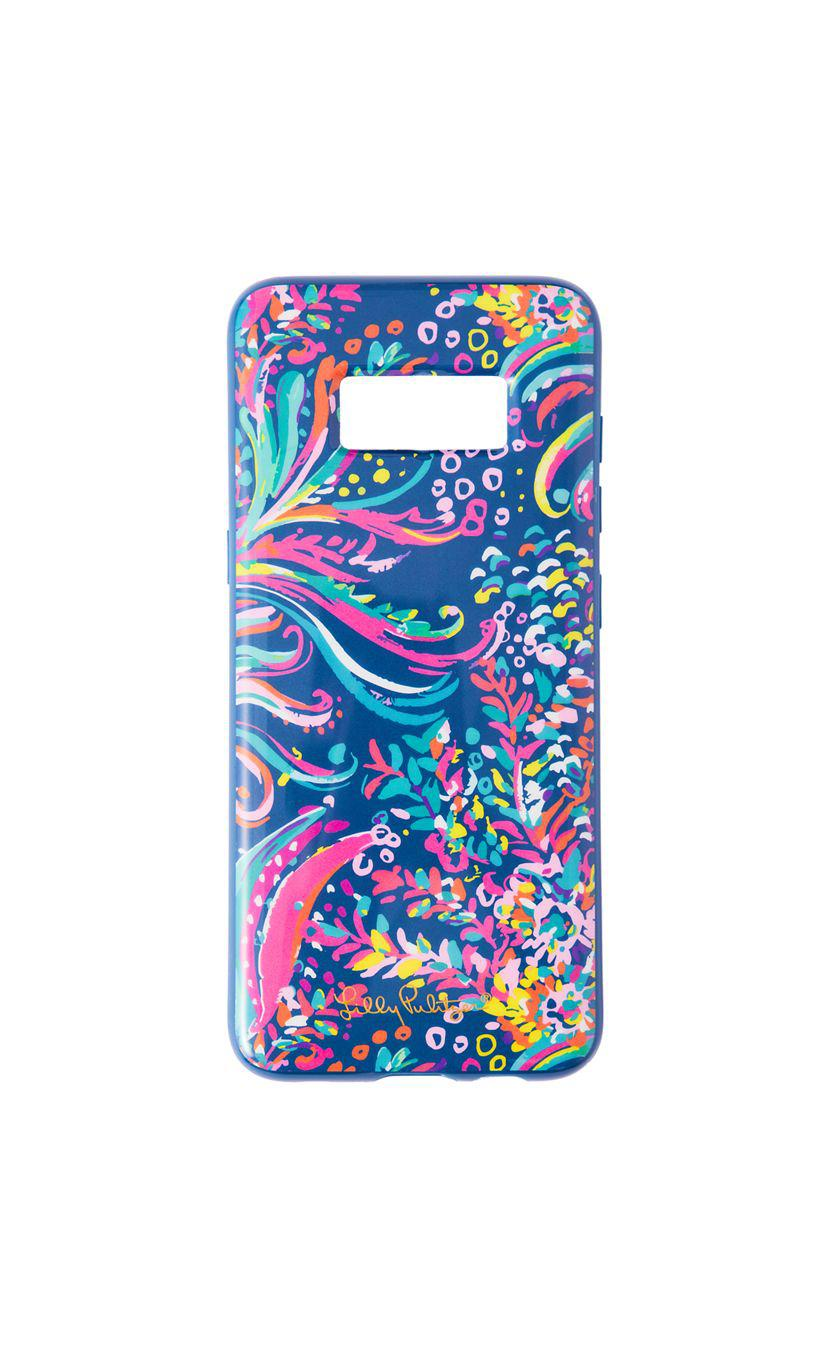 wholesale dealer 0857e ad341 Lilly Pulitzer Samsung Galaxy Classic Cover in Blue - Lyst
