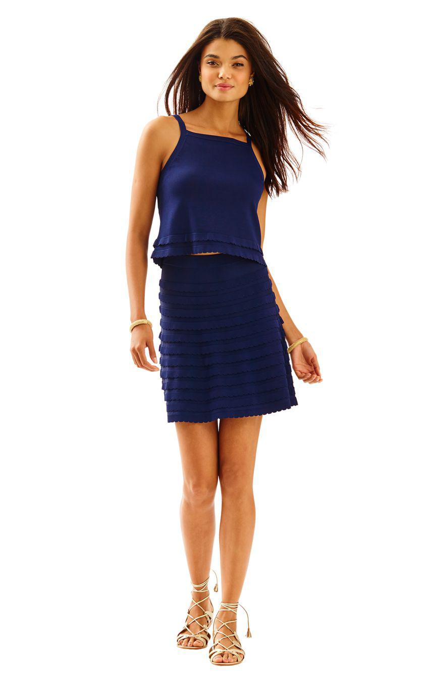 f2bcc4b4bf Lilly Pulitzer Olive Sweater Dress Set in Blue - Lyst