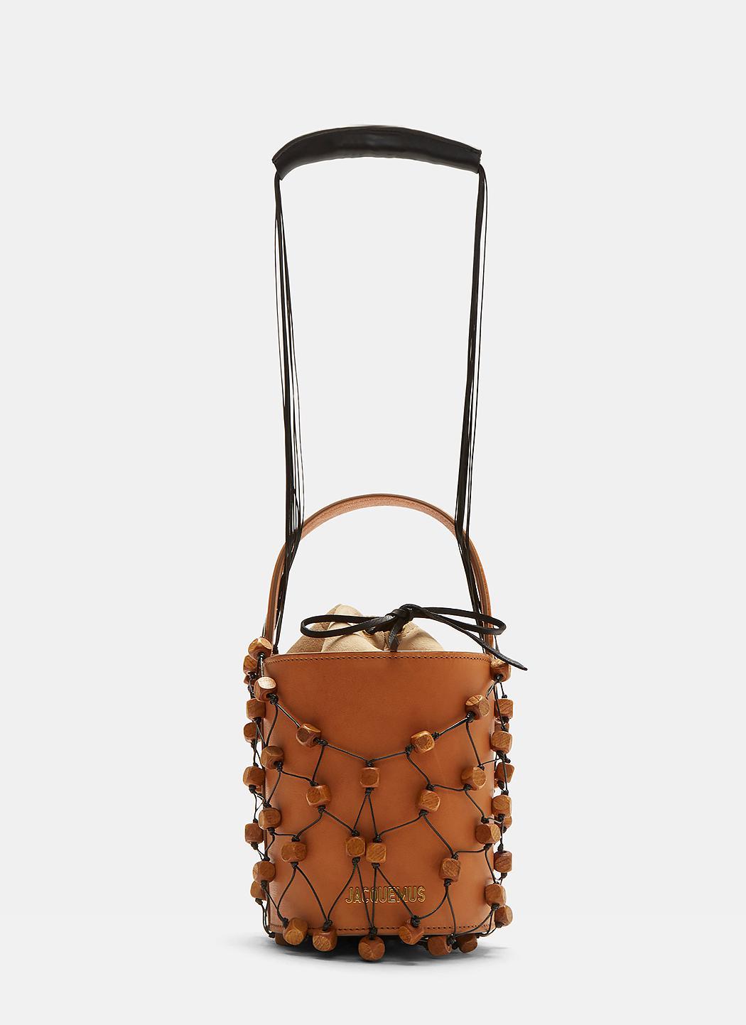 Le Sac Maracasau leather shoulder bag Jacquemus mIz6T5KG