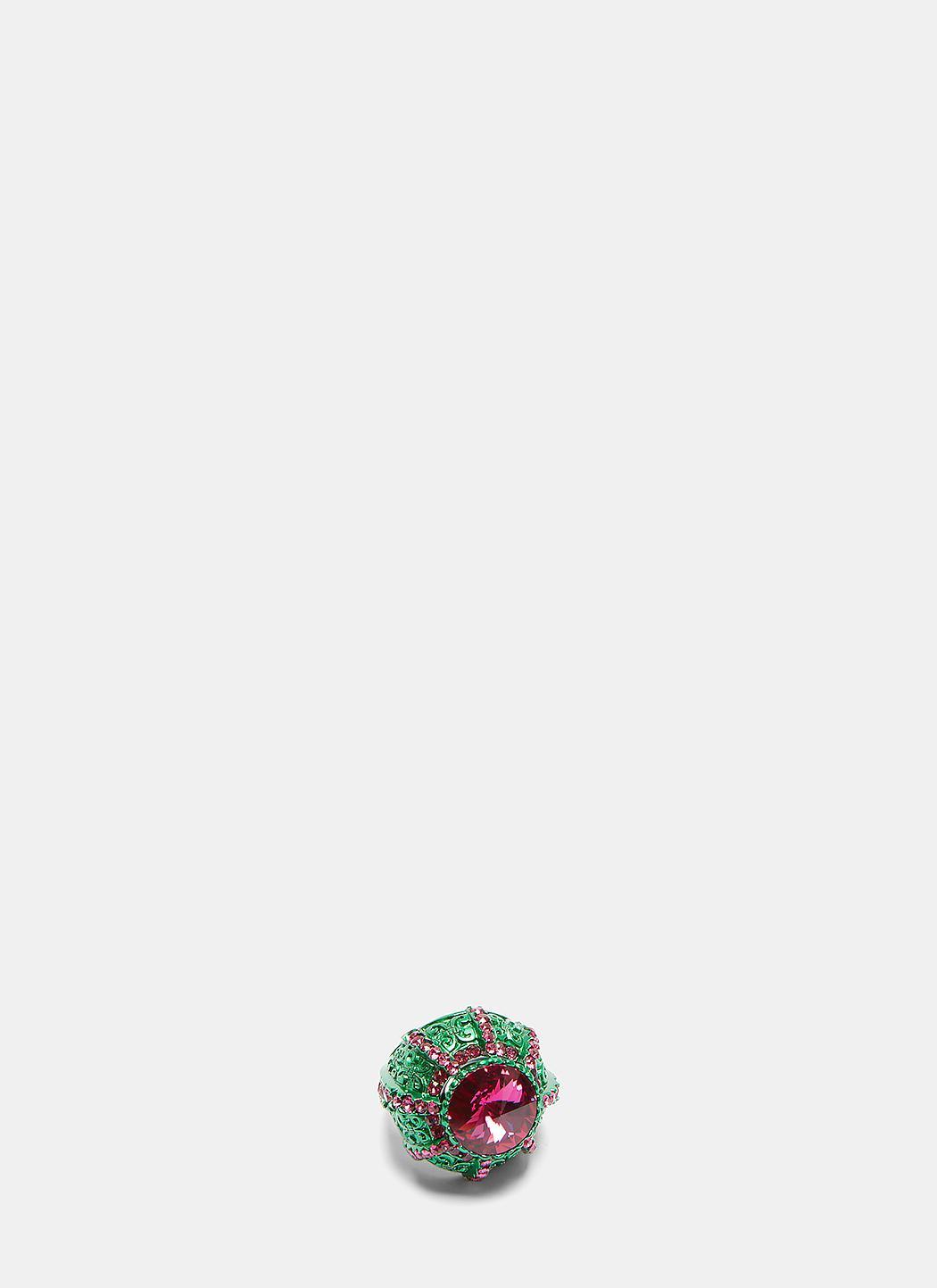 Gucci Crystal Pincushion Ring xJ640bs0dz