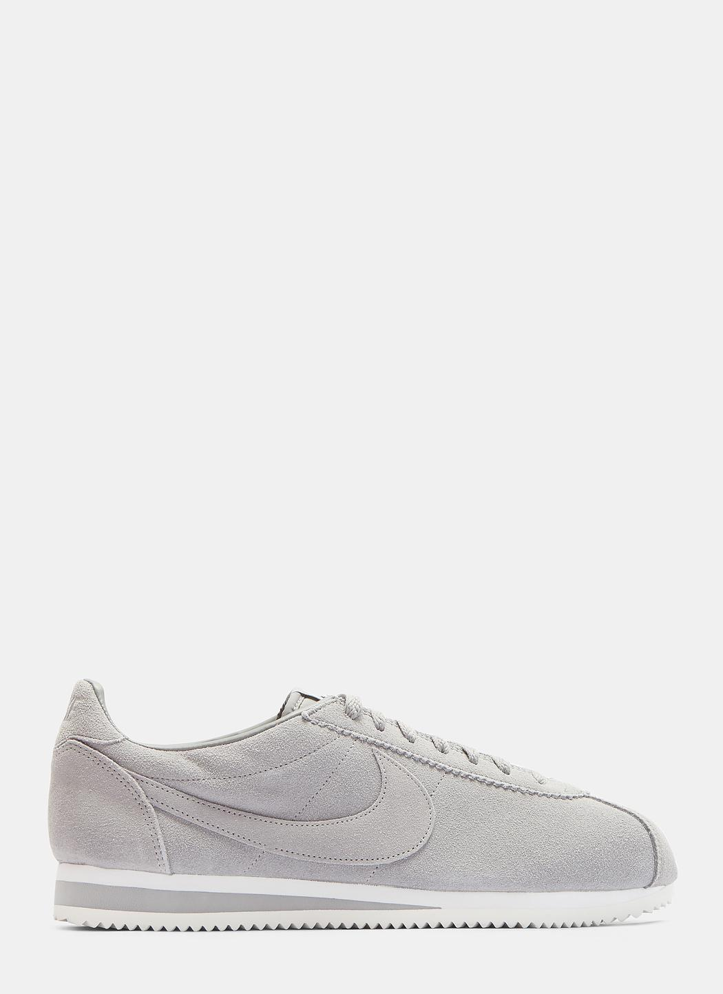 Nike. Women's Purple Classic Cortez Suede Sneakers ...
