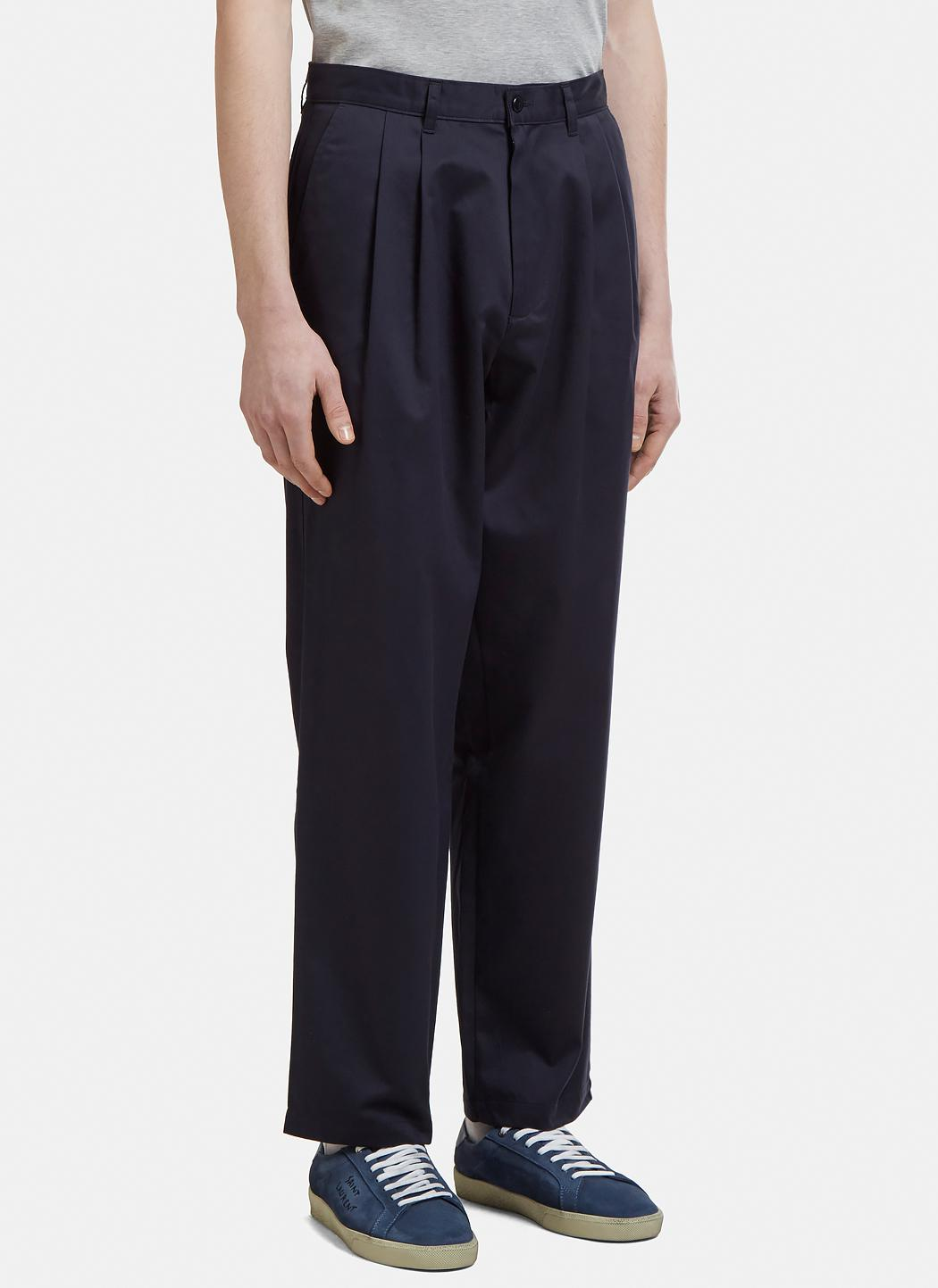 Sunshine Pay With Paypal For Sale classic pleated trousers - Blue Nine In The Morning Clearance Fake Outlet Huge Surprise 4EUSnM6