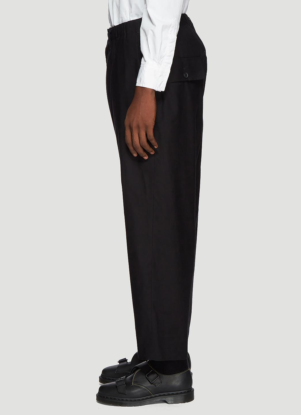 898eff62570 Yohji Yamamoto - Wide Leg Pants In Black for Men - Lyst. View fullscreen