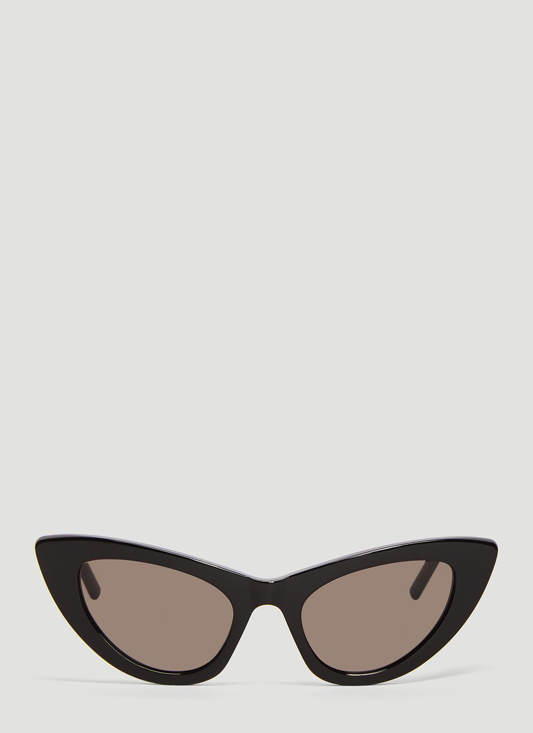 9356db04fcc8f Lyst - Saint Laurent Sl 213 Lily Sunglasses In Black in Black for Men