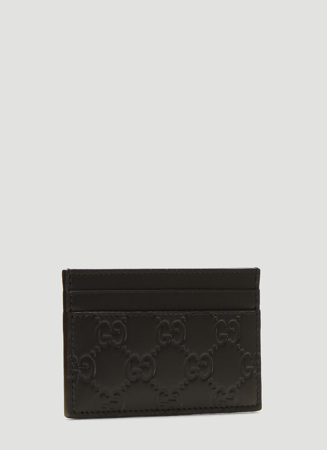 10b8f379 Men's GG Credit Card Holder In Black