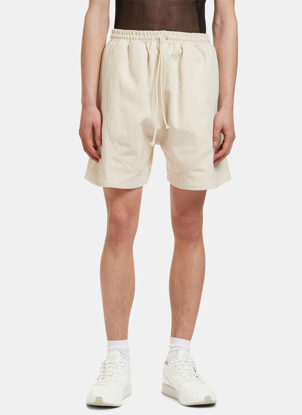 Camiel Fortgens Men 39 S Football Shorts In Off White In