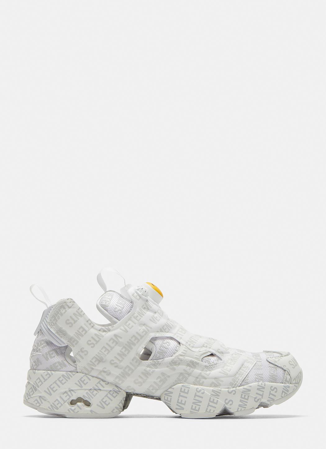 27d8b76dd31 Lyst - Vetements X Reebok Emoji Instapump Fury Sneakers In White in ...