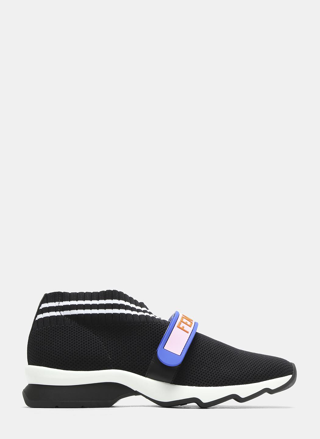 Fendi Love ' Knit Sneakers Apu5L