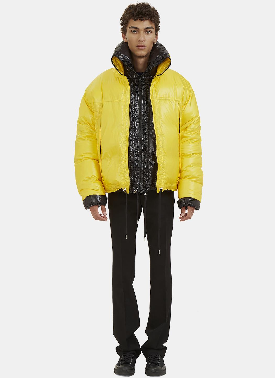 Lyst Raf Simons Men S Double Layered Down Quilted Jacket