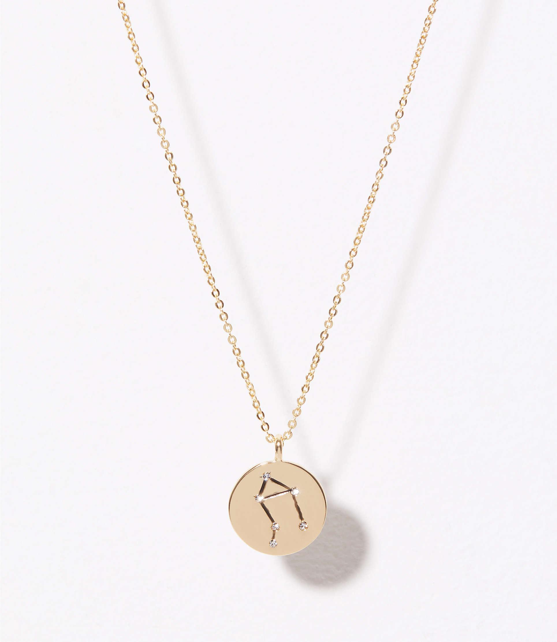 zodiac necklaces swarovski leo libra necklace pendant
