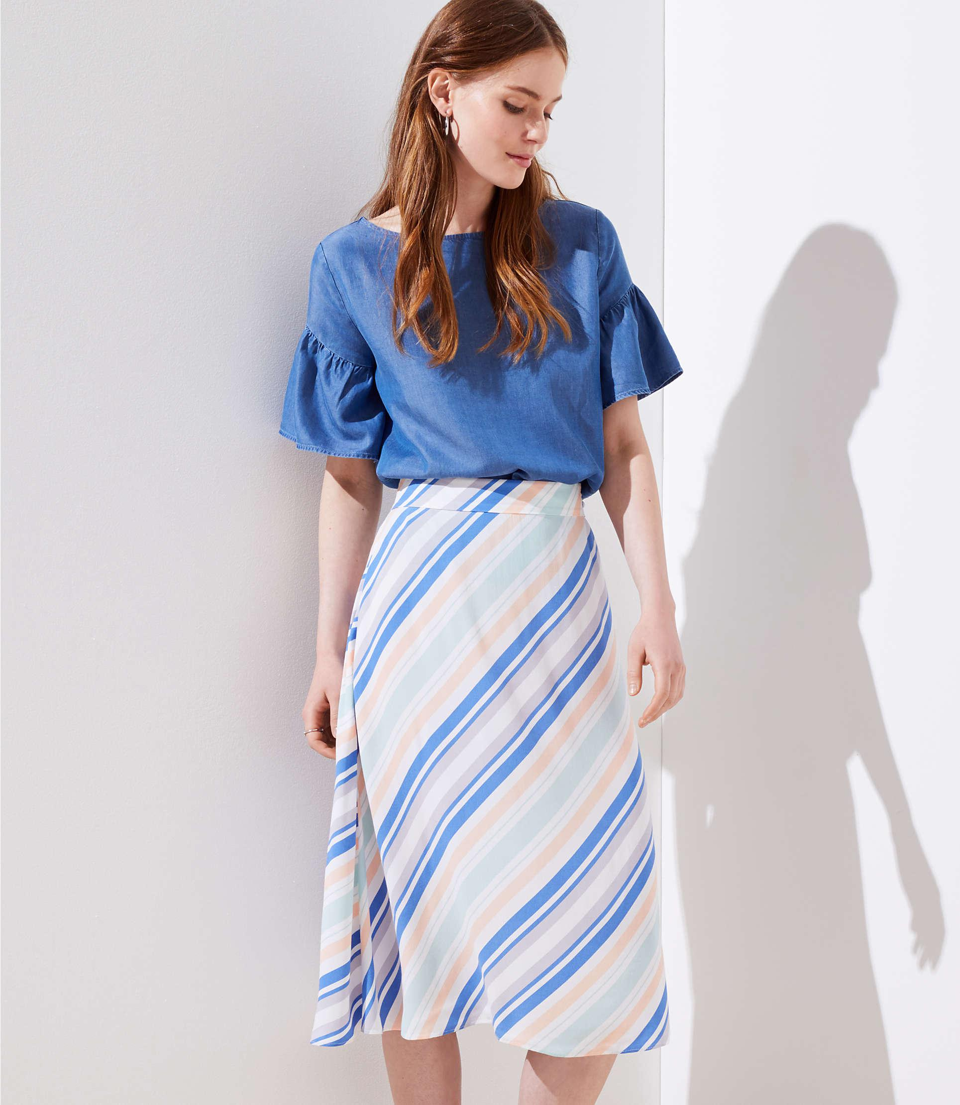a99430ab3ef250 Gallery. Previously sold at: LOFT · Women's Button Down Skirts