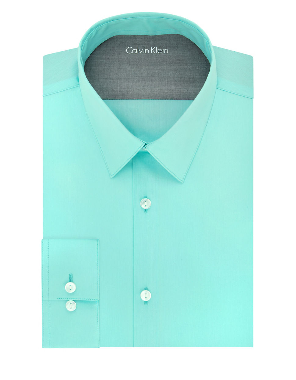 calvin klein extreme slim fit dress shirt in blue for men