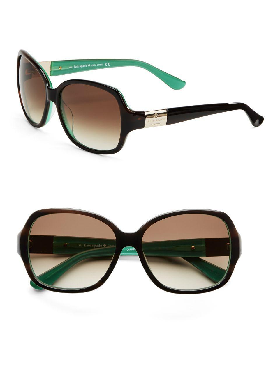 Lyst - Kate Spade Carmel Sunglasses