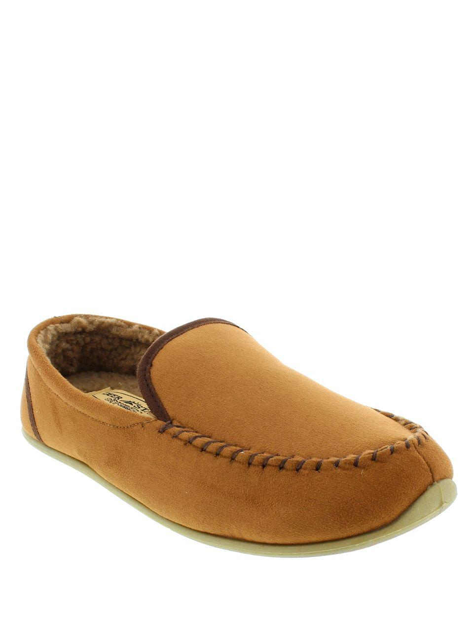 b539cd19b47 Lyst - Deer Stags Alpen Faux Fur-lined Moccasins in Brown