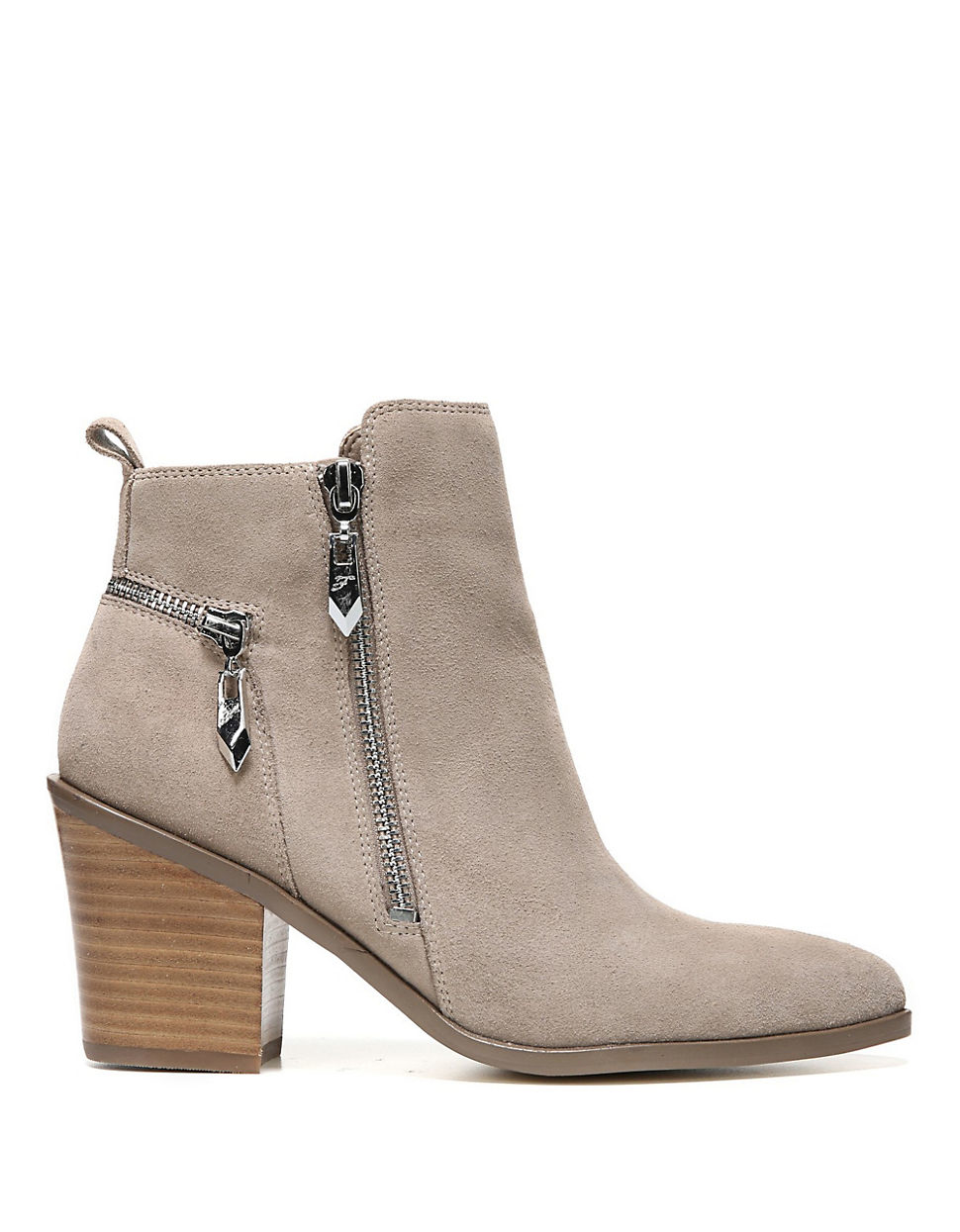Fergie Bianca Suede Ankle Boots in Black - Lyst Fergie Shoes