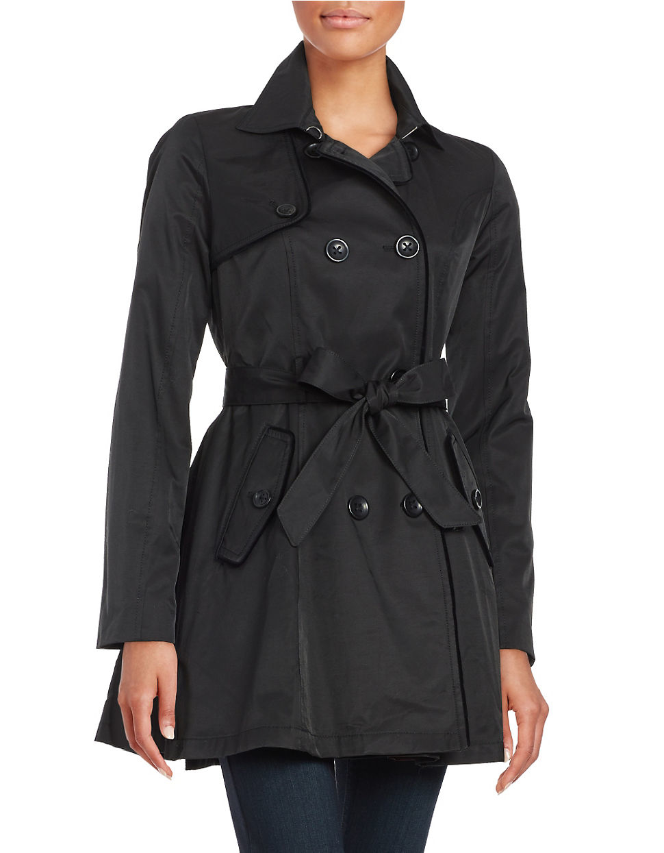 Women's Raincoats, Rain Jackets, & Trench Coats. Make rainy days a little brighter with a women's raincoat from Belk. Choose between long trench coats and short rain jackets for a look you love.