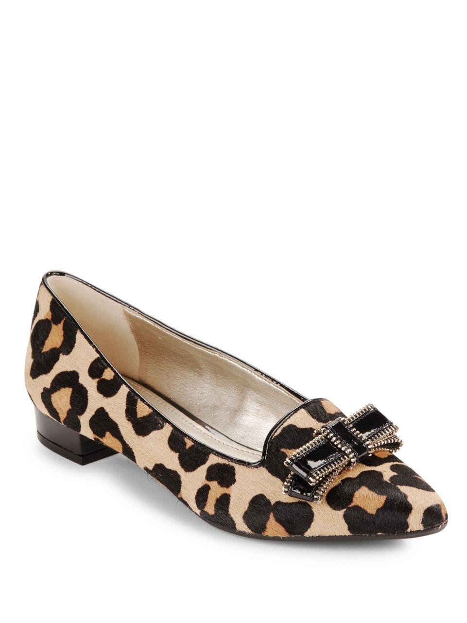 Anne Klein Pointy Flat Shoes
