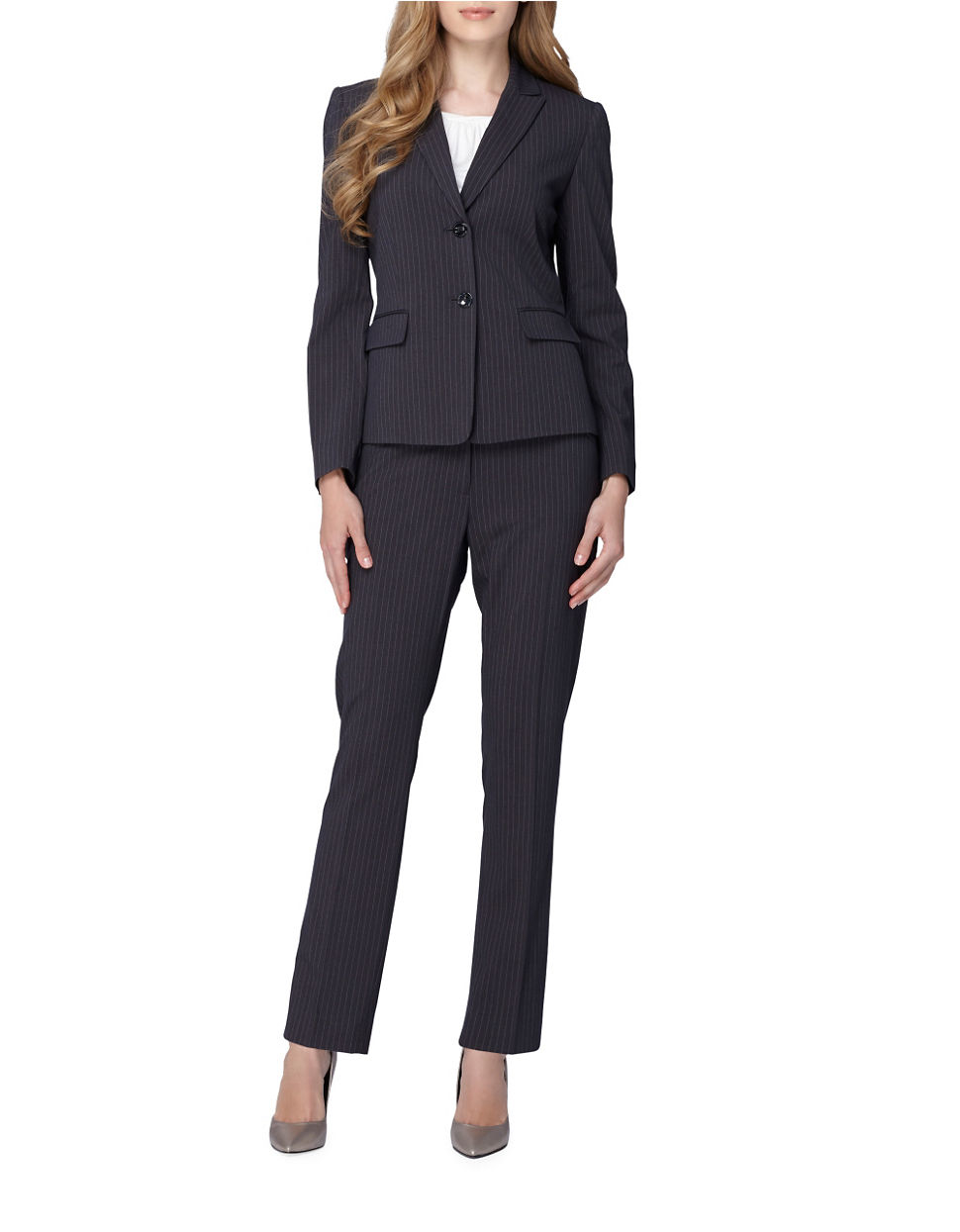 Creative Women Evening Pant Suits Brand New 2016 Ladies Trouser Suit Gray Black