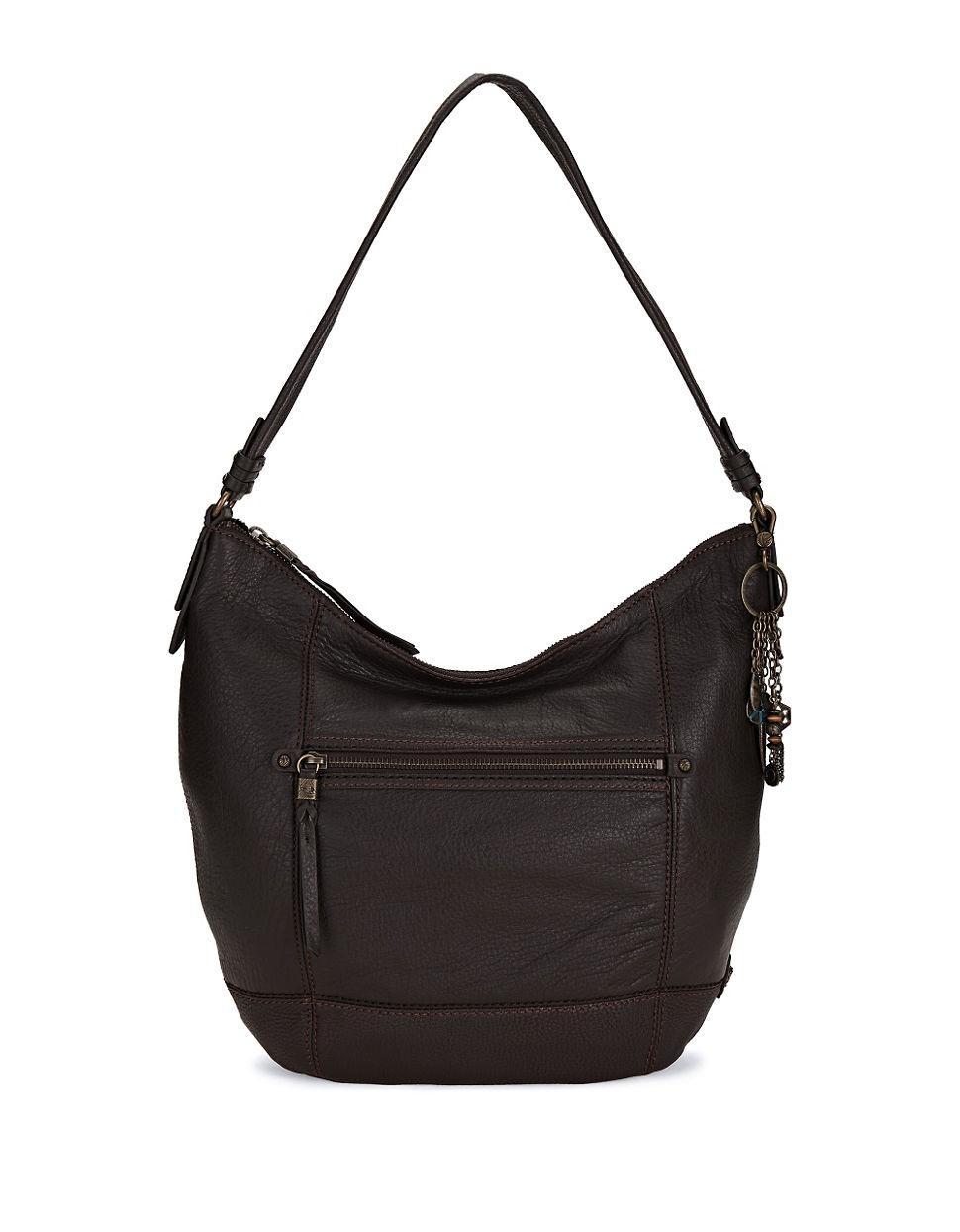 The Sak Sequoia Leather Hobo Bag In Black Lyst