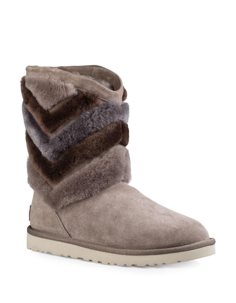 sheepskin fur ugg boots