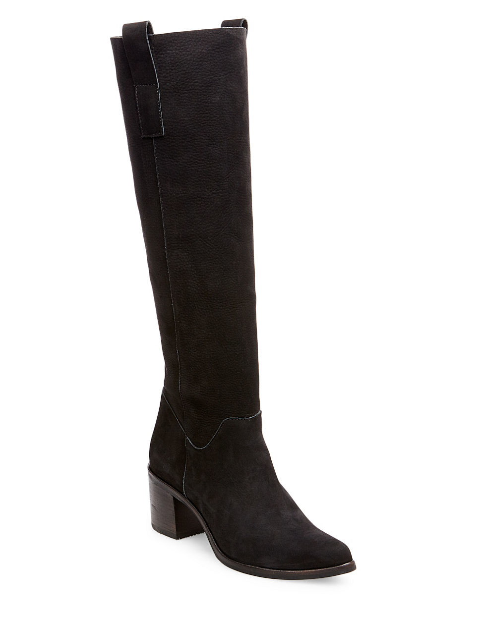 steven by steve madden duval suede knee high boots in