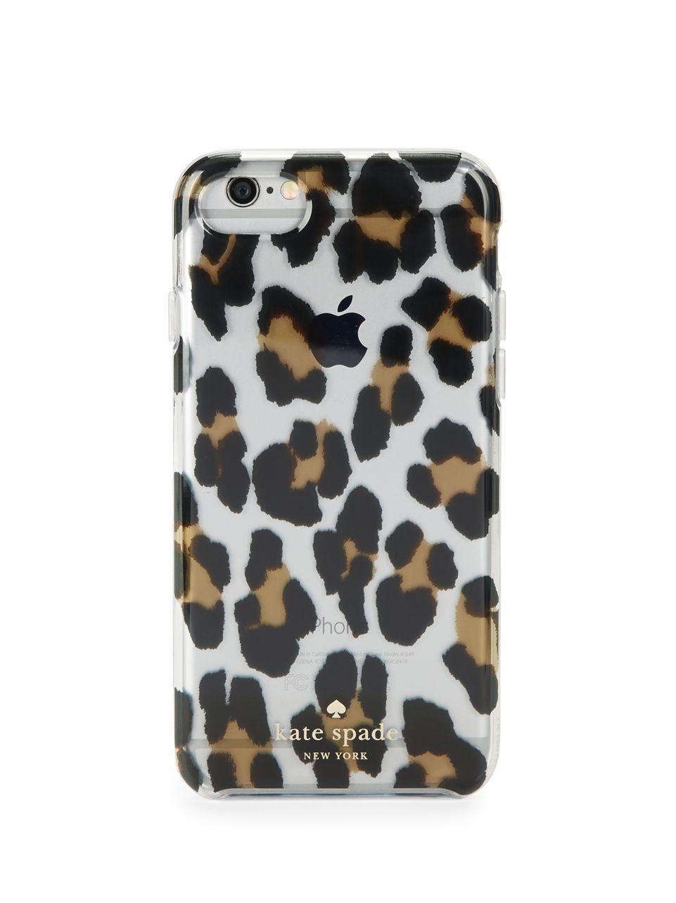 Leopard Iphone  Case Kate Spade