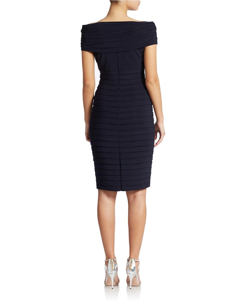 Xscape Shutter Pleat Dresses