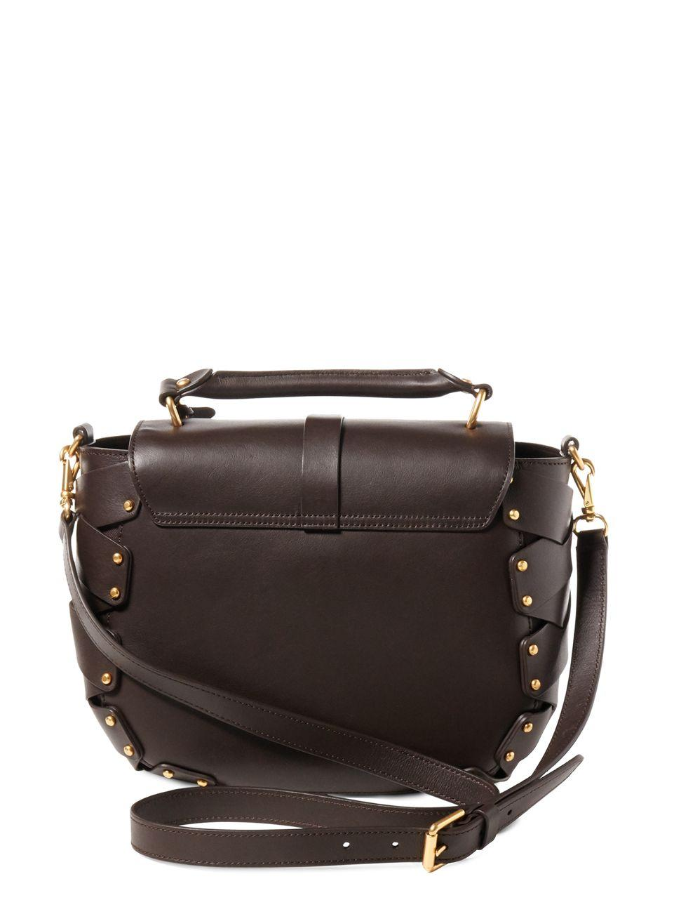 bc18e8998abe Lauren By Ralph Lauren Ludwick Collection Viana Saddle Bag in Brown ...