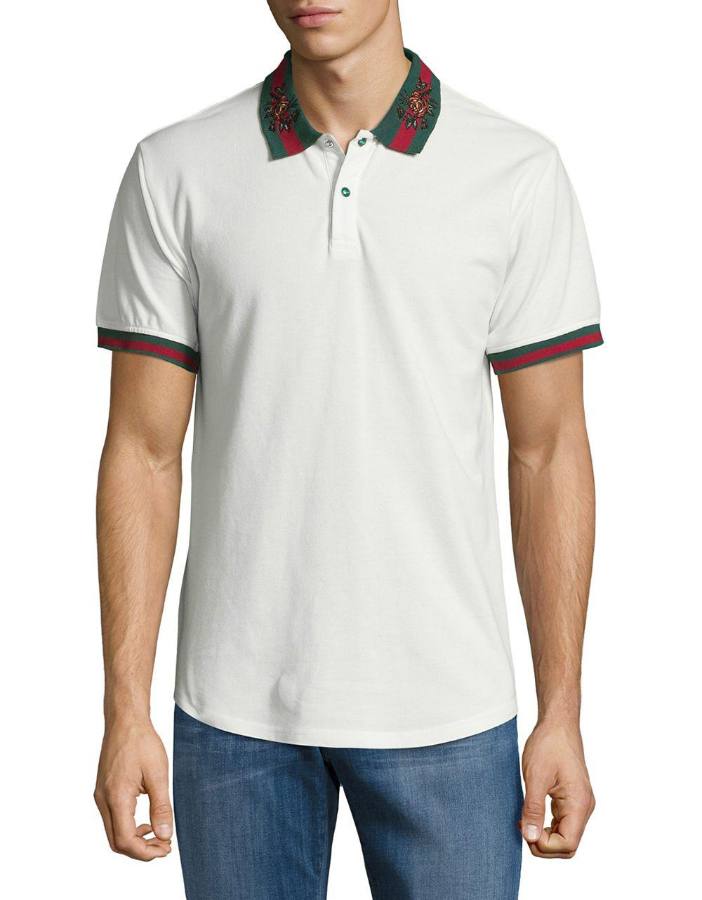 Lyst Reason Contrast Polo Shirt In White For Men
