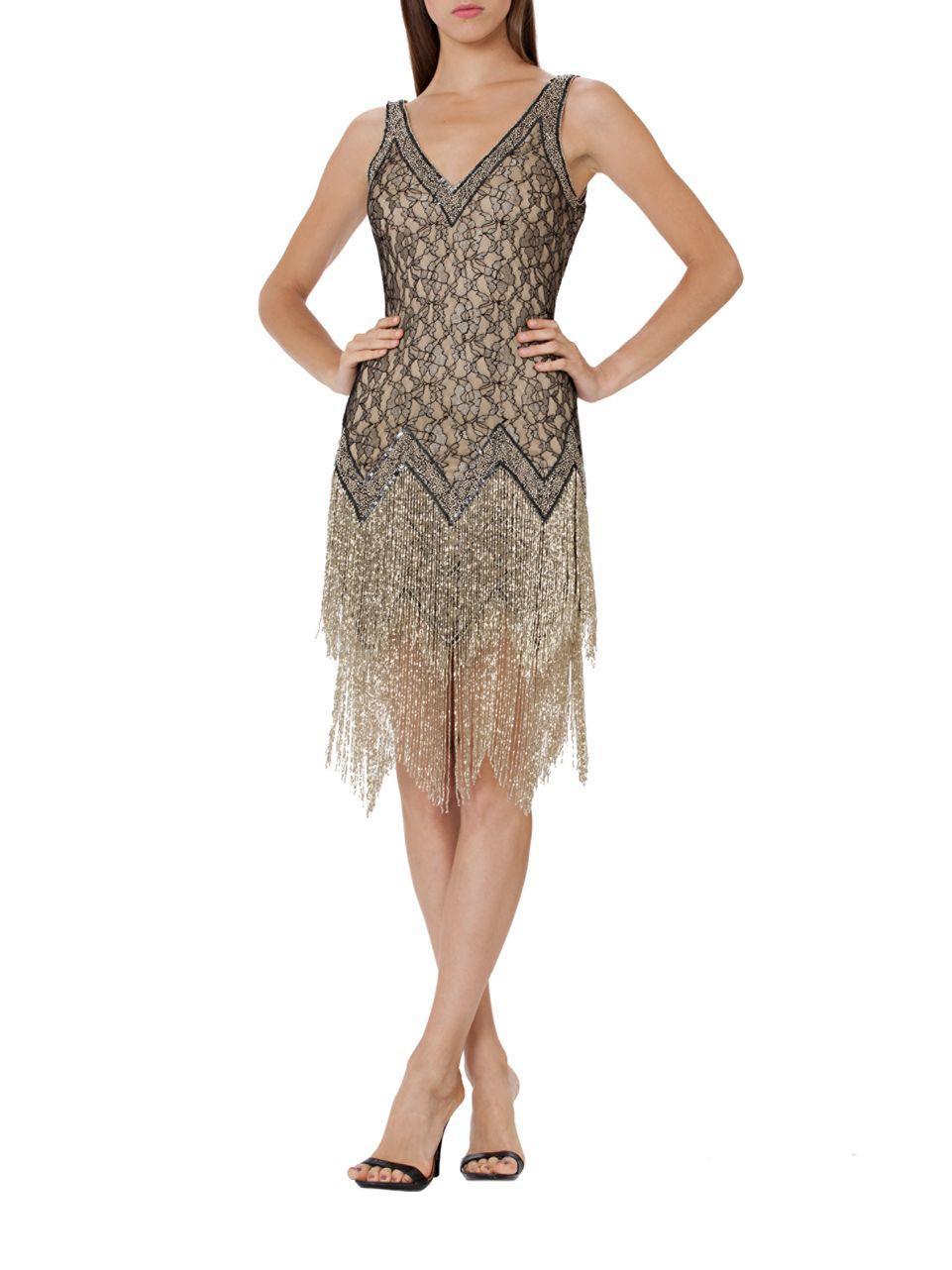 River Island Beaded Flapper Dress