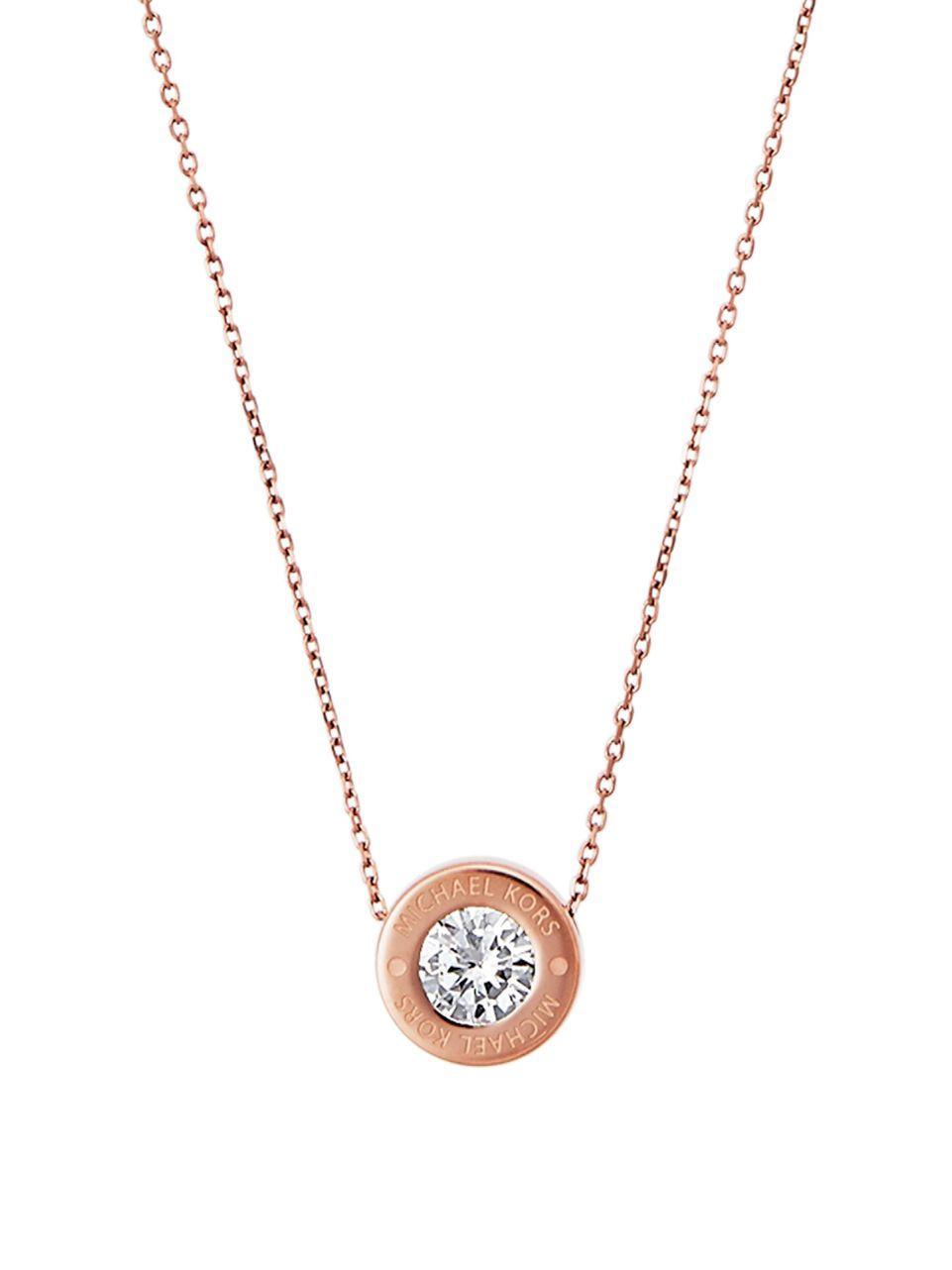 4900d9eddf5bc Gallery. Previously sold at  Lord   Taylor · Women s Michael Kors Pendant