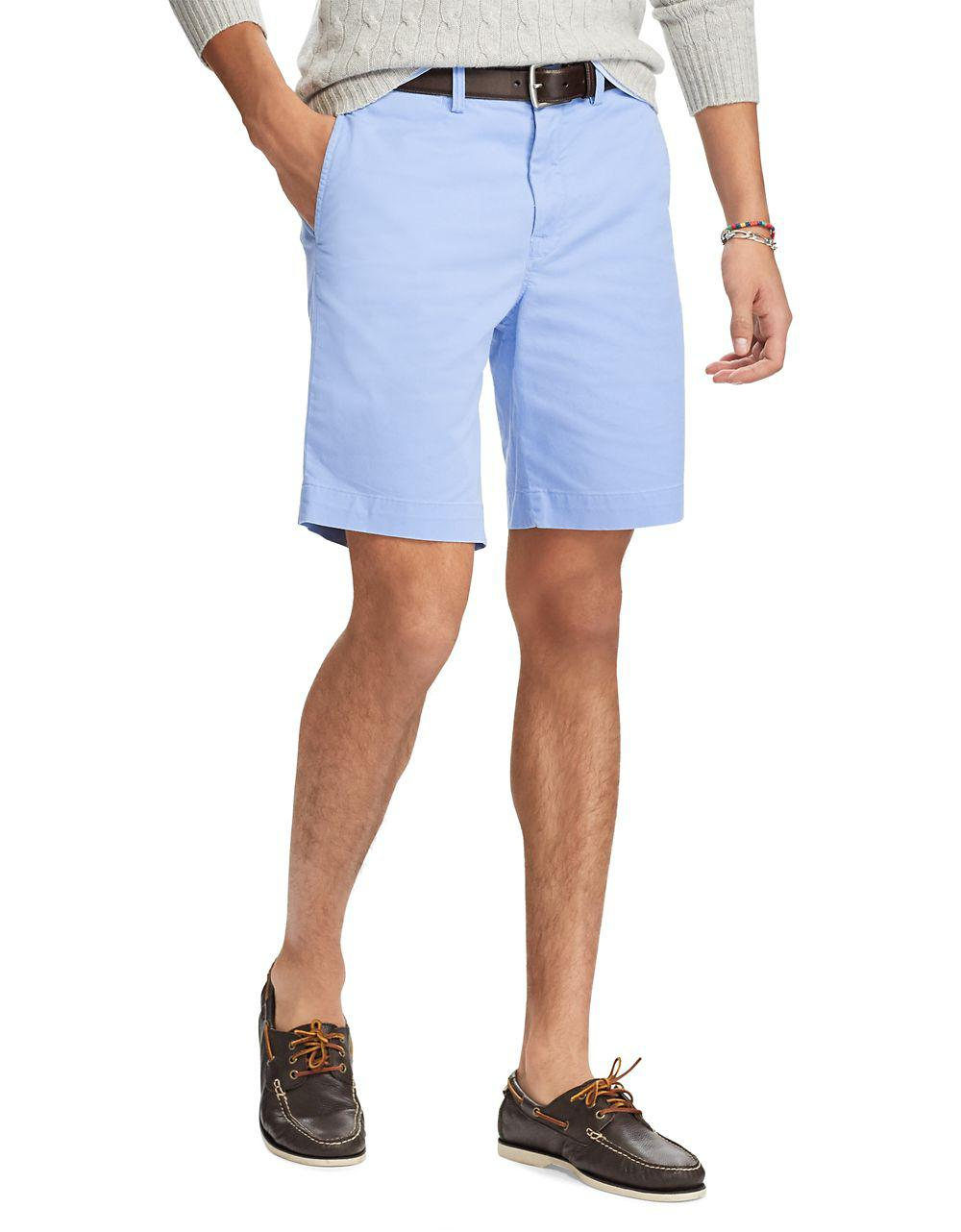 classic fit stretch shorts - Blue Polo Ralph Lauren
