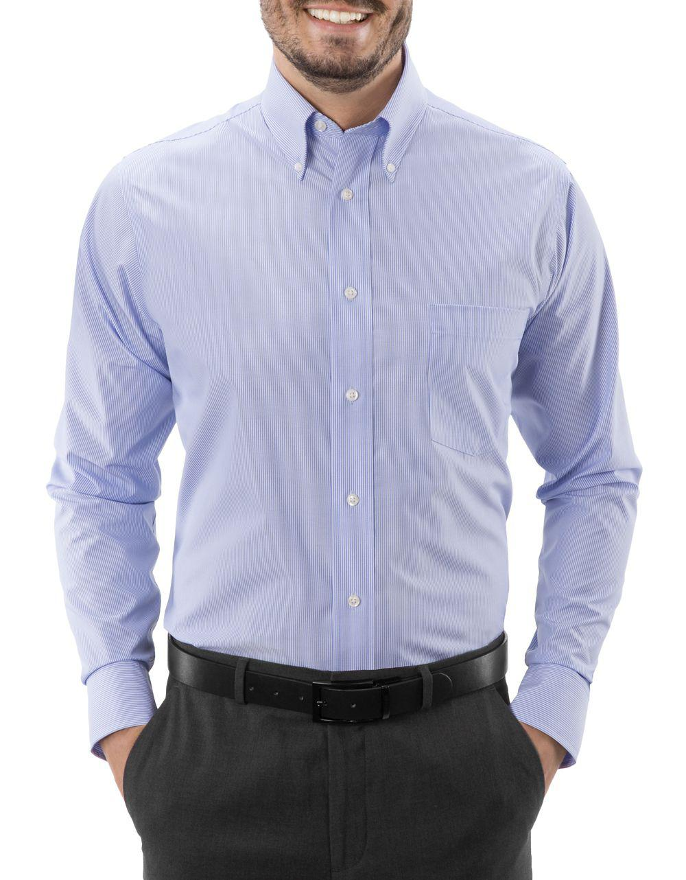 Tommy Hilfiger Non Iron Slim Fit Solid Dress Shirt