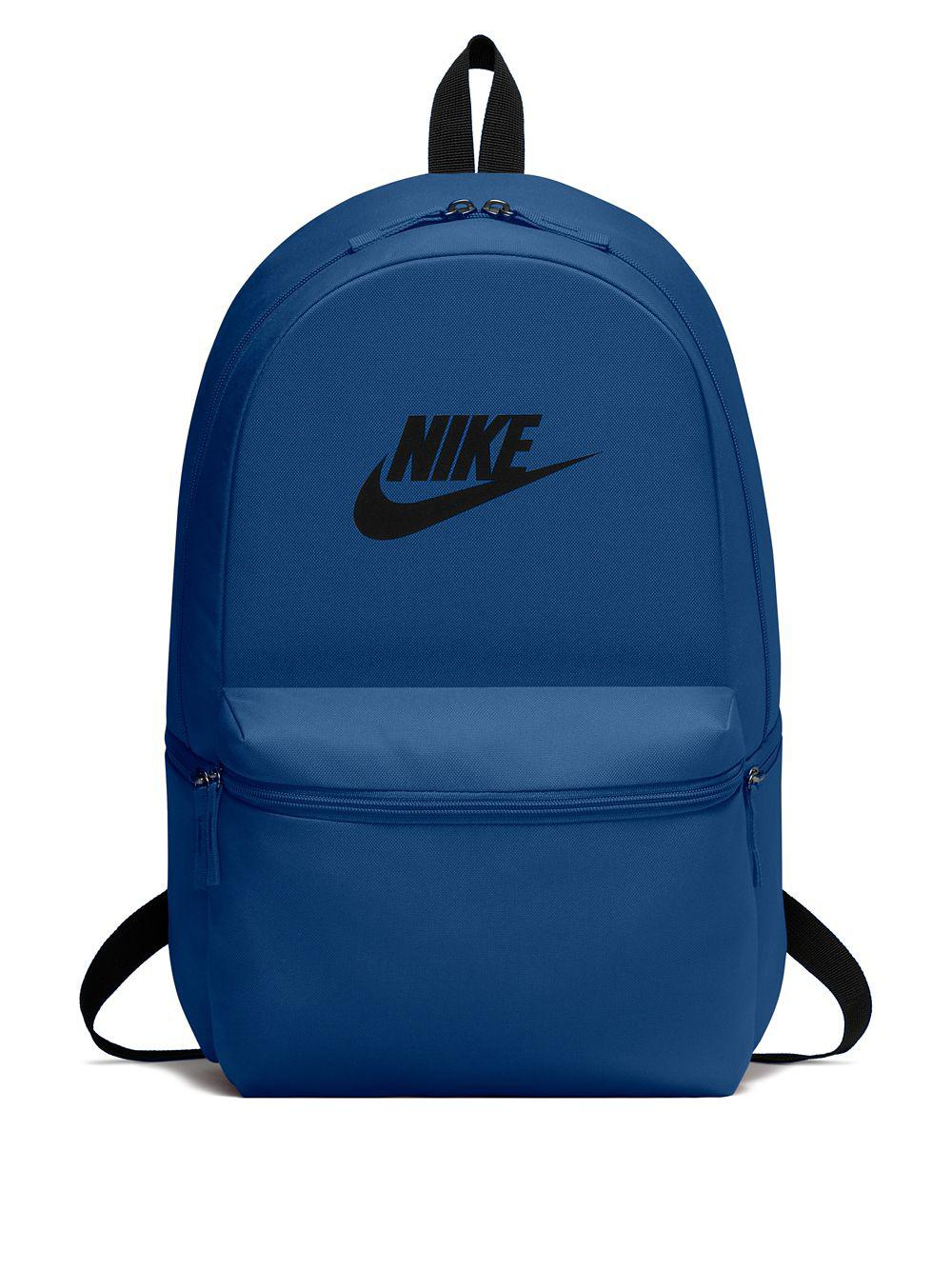 size 40 410c0 e0620 Nike Heritage Logo Backpack in Blue for Men - Lyst