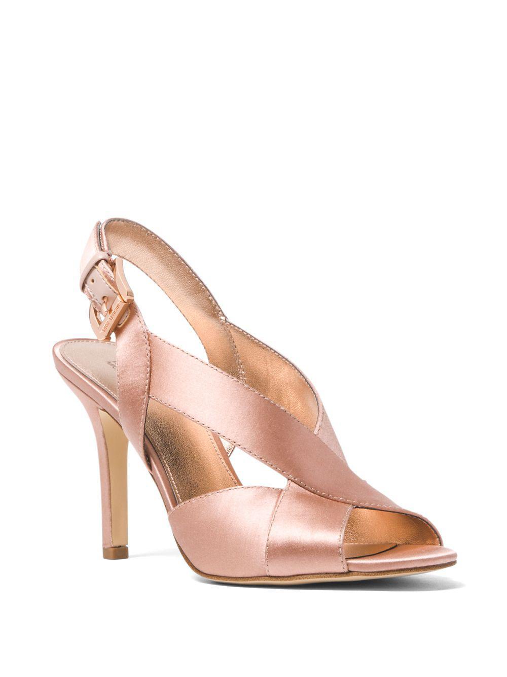 110342257d04 Michael Michael Kors Becky Crisscross Fabric Slingback Sandals in ...