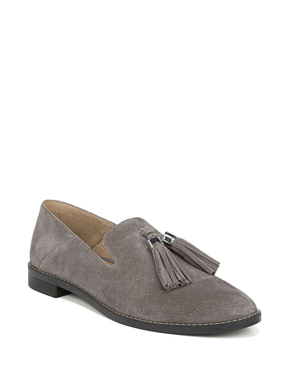 d659426f505 Lyst - Franco Sarto Hadden Suede Loafers in Gray - Save ...